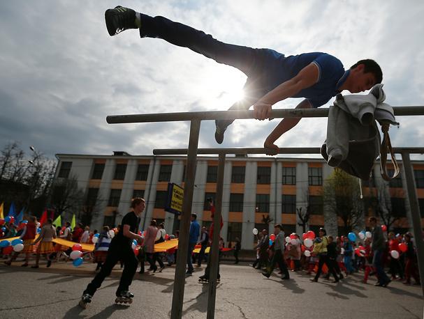 Первомайское шествие в Иваново