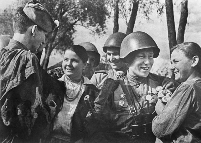 Возвращение солдат на родину, 1 июня