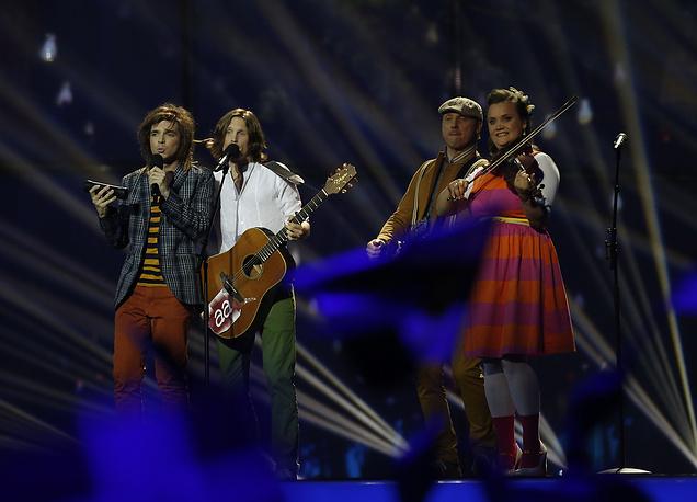 Группа Aarzemnieki из Латвии