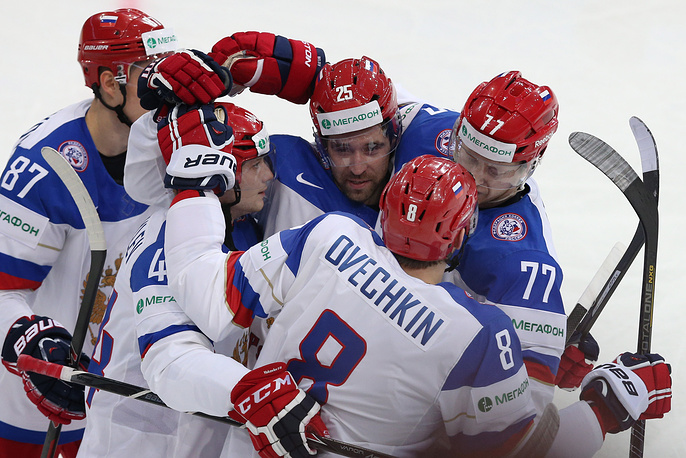Сборная России под руководством Олега Знарка с победы стартовала на чемпионате мира в Минске