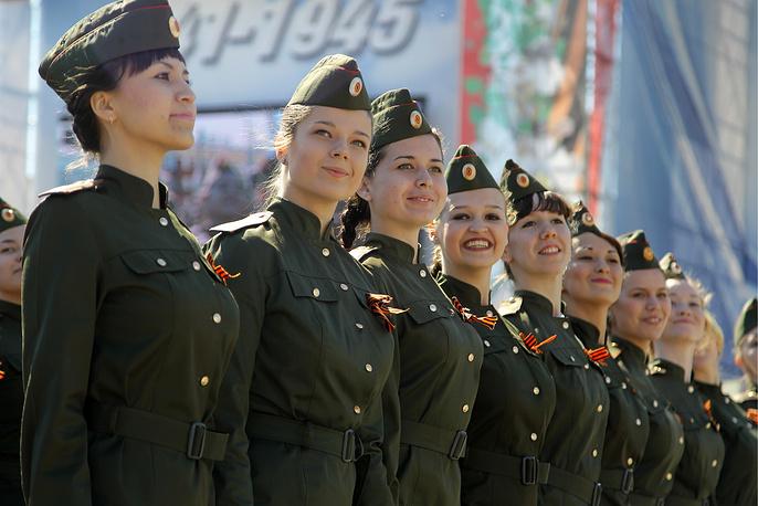 Военный парад в Казани