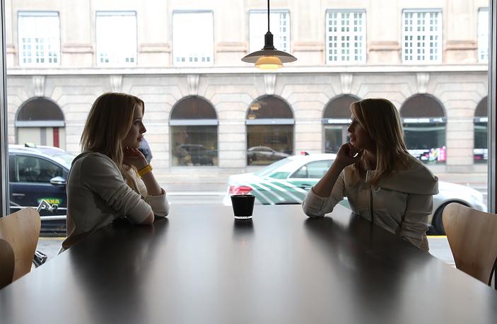 Мария и Анастасия (справа) Толмачевы