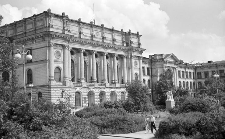 Политехнический институт имени М.И.Калинина в Ленинграде, СССР, 1962 год