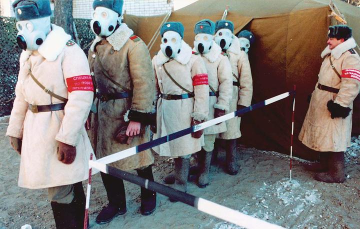 """Сбор приписного состава соединения """"Партизан"""" в Сибирском федеральном округе, 2001 год"""