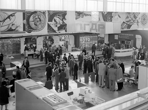 """Выставка """"Единая система электронно-вычислительных машин социалистических стран"""", 1973 год"""