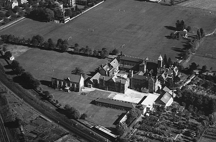 Аэроснимок Dean Close, Великобритания, 1930е годы