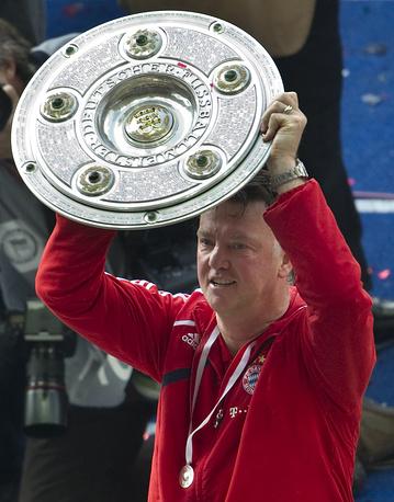 """В 2010 году главный тренер """"Баварии"""" Ванг Гал выиграл вместе с клубом Бундеслигу"""