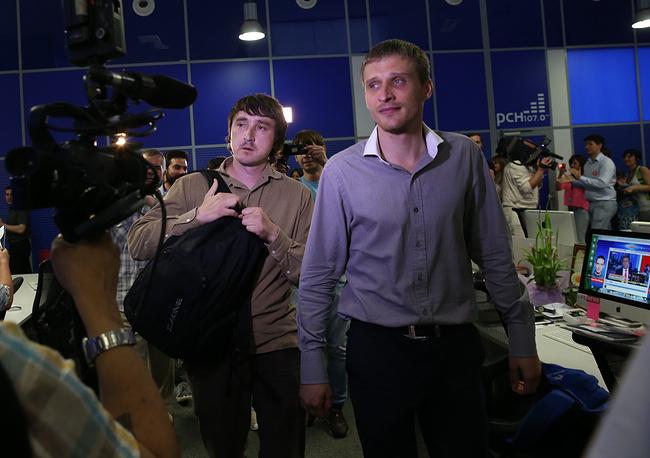 Марат Сайченко и Олег Сидякин