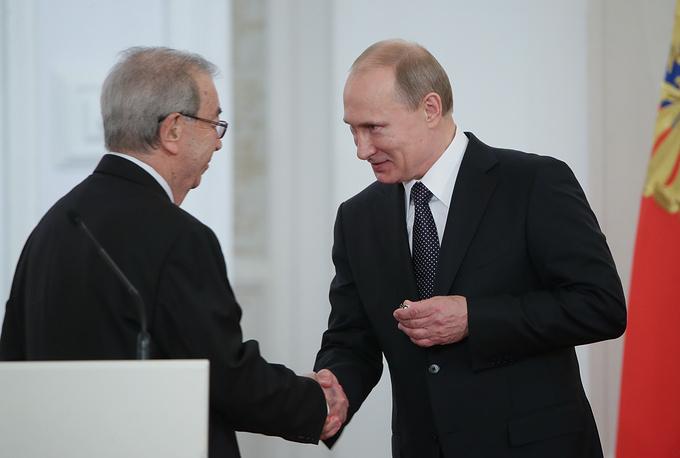 В этом году премии за достижения в области гуманитарной деятельности в 2013 году удостоен государственный и общественный деятель Евгений Примаков