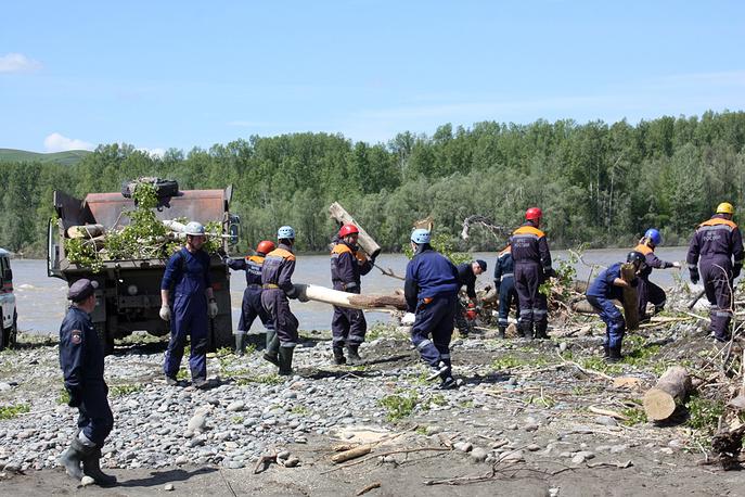 Восстановительные работы в Алтайском крае