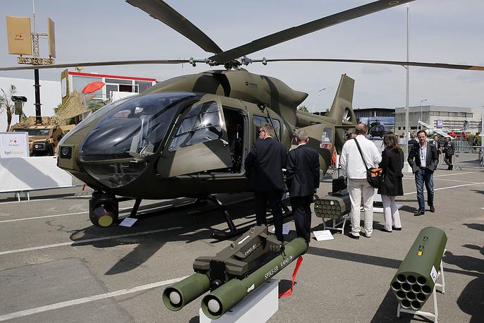 Военный вертолет Eurocopter EC645 T2