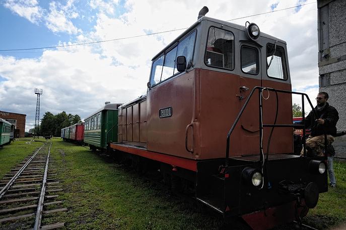 Последняя узкоколейная железная дорога в Свердловской области. Исторический и технический памятник. Алапаевский район