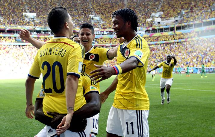 Если японцы потеряют очки в матче с командой Греции, колумбийцы досрочно выйдут в плей-офф