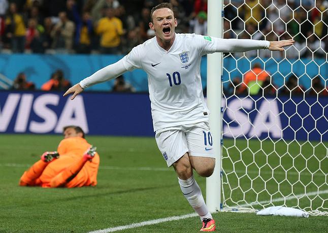 Уэйн Руни забил свой первый гол на чемпионатах мира, но это не спасло англичан от поражения