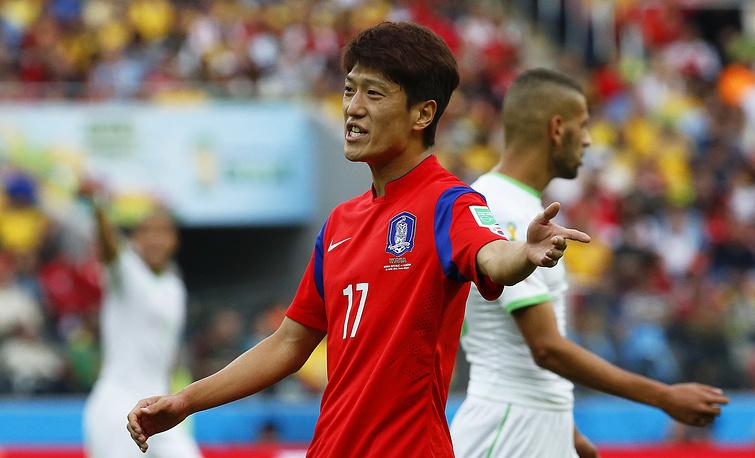 Футболисты сборной Южной Кореи смогли дважды поразить ворота соперника