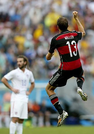 Мюллер приносит победу сборной Германии