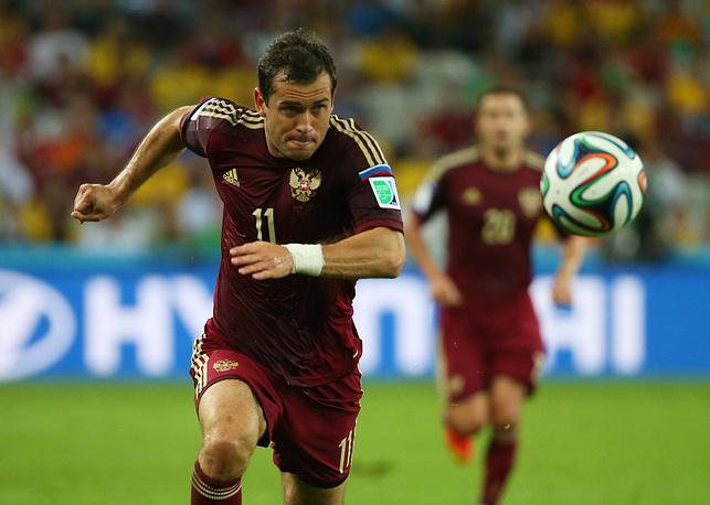 Не смог пока Кержаков стать лучшим бомбардиром в истории сборной России
