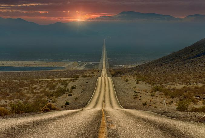 США. Долина Смерти