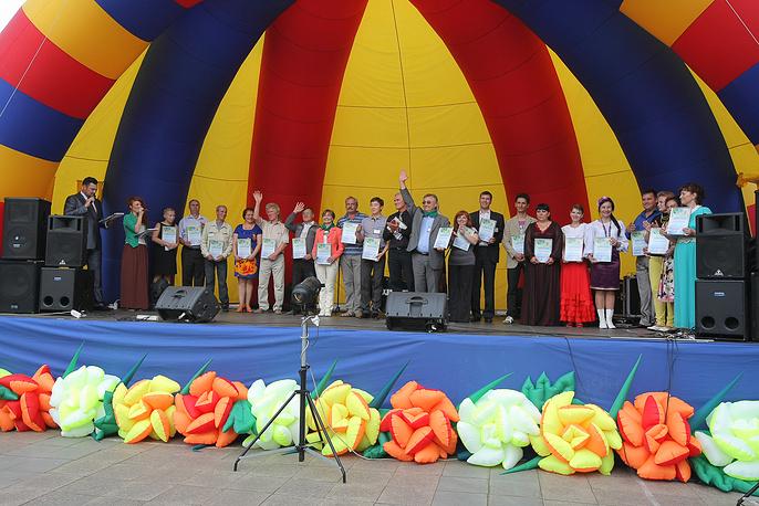 Награждение победителей фестиваля Уральские зори
