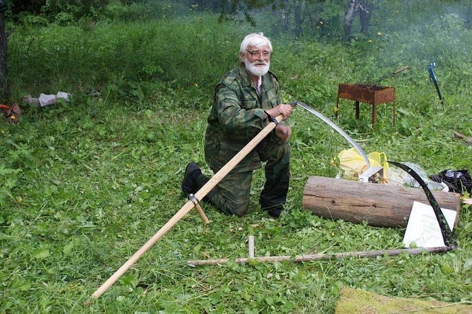Участник Турнира косарей