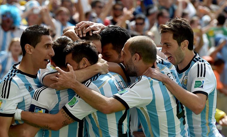 Радость аргентинцев