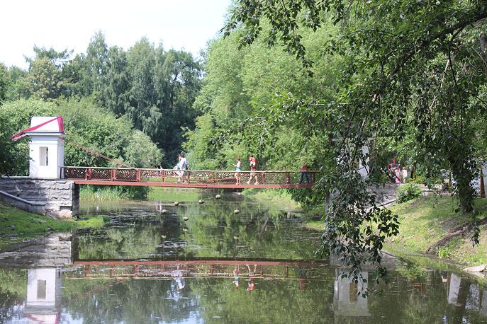 В Харитоновском парке