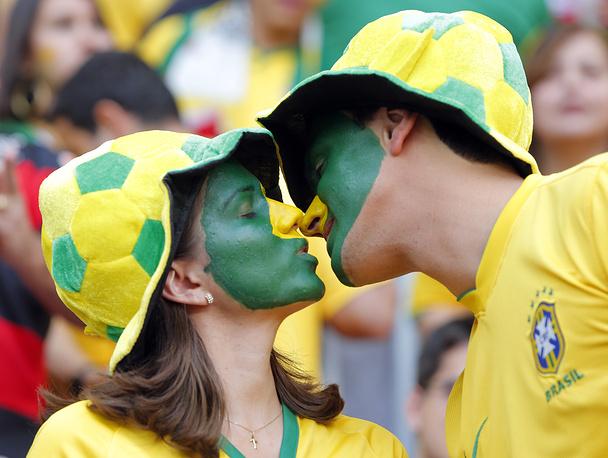 Поцелуй перед матчем