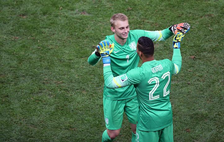 Михел Ворм сменил Яспера Силлесена и голландцы установили рекорд - на турнире были задействованы все 23 футболиста, попавших в заявку