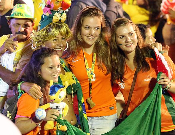И радостные голландские
