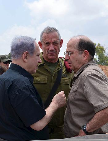 """Премьер-министр Израиля Биньямин Нетаньяху заявил, что операция """"Рубеж обороны"""" """"продолжится до тех пор, пока спокойствие не вернется в города Израиля"""""""