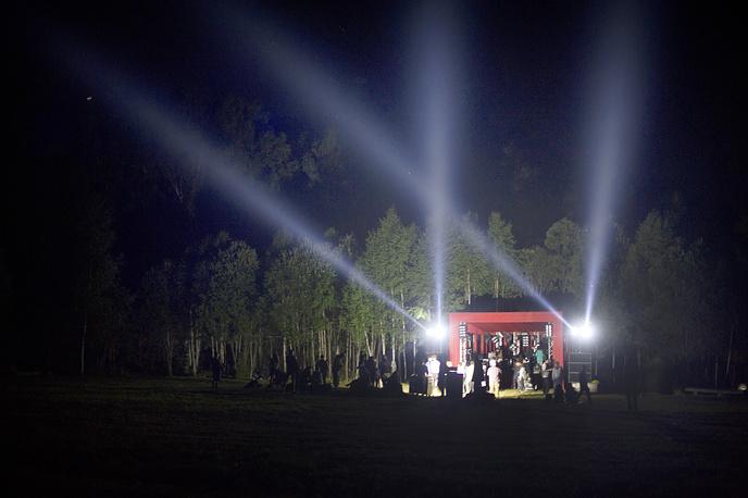 """На фестивале """"Архстояни-2014"""" в деревне Никола-Ленивец"""