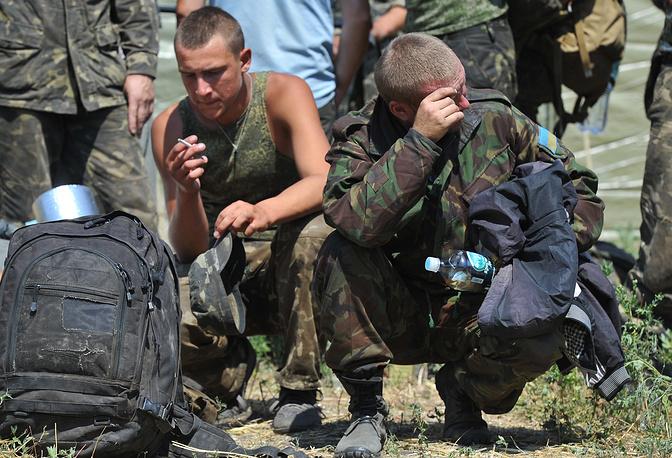 """""""В последнюю неделю с нами даже не выходили на связь - они нас уже похоронили"""", - заявил командир батальона майор Виталий Дубиняк"""