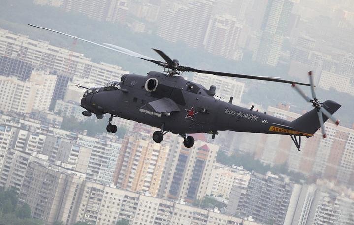 Ударный вертолет Ми-35