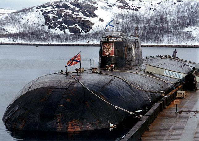 """Атомная подводная лодка """"Курск"""". 1999 год"""