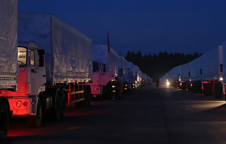 Глава МИД РФ Сергей Лавров сообщил, что детали этой гуманитарной операции согласованы с руководством Украины