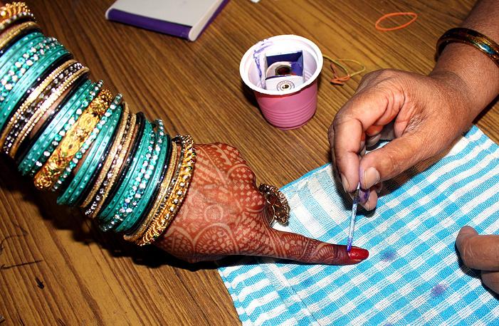 Всеобщие выборы в Индии, 2014 год