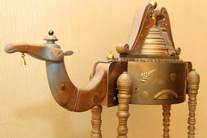 Копия будущей статуи верблюда работы Рафаэля Сайфулина