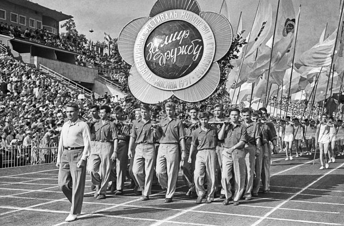 VI Всемирный фестиваль молодежи и студентов в Москве. 1957 год
