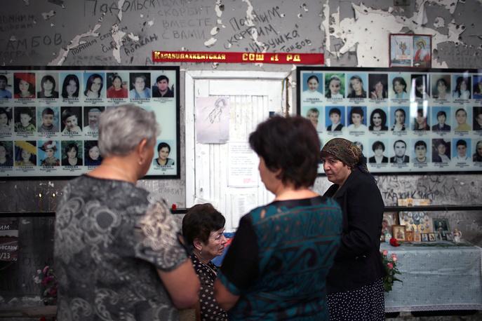День памяти жертв теракта в школе № 1 в Беслане, 1 сентября 2014 года