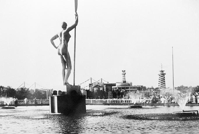 Центральный парк культуры и отдыха имени М. Горького, 1935 год