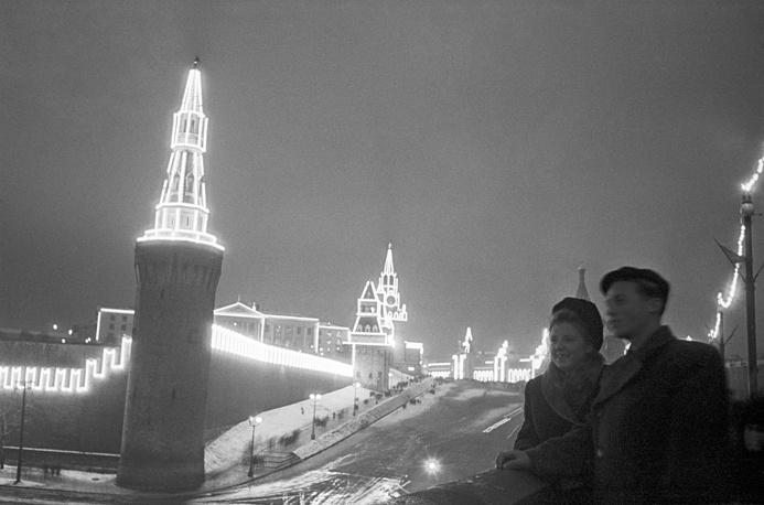 800-летие города. Вид на Кремль, 1947 год