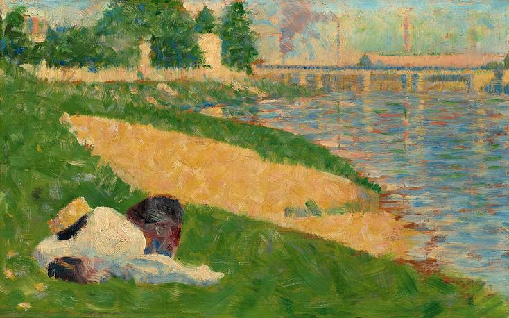 Картина французского импрессиониста Жоржа Сера из коллекции Рэйчел Меллон