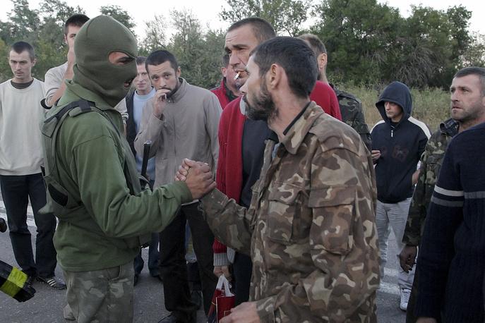 14 сентября стороны договорились об освобождении 73 украинских военнослужащих и 69 ополченцев