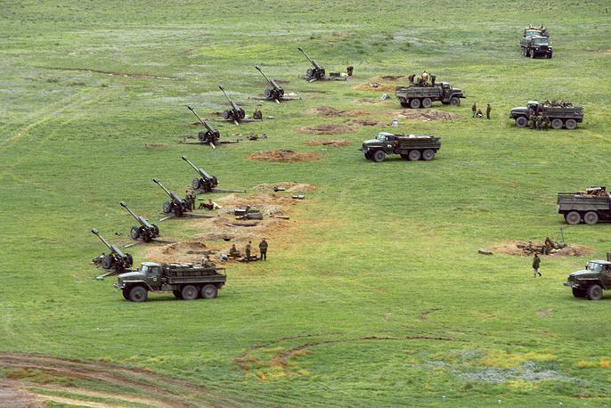 Подразделения федеральных войск в Чеченской Республике, 1999 год