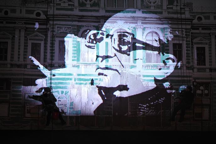 Спектакль был представлен в 99-й день рождения Г.А. Товстоногова