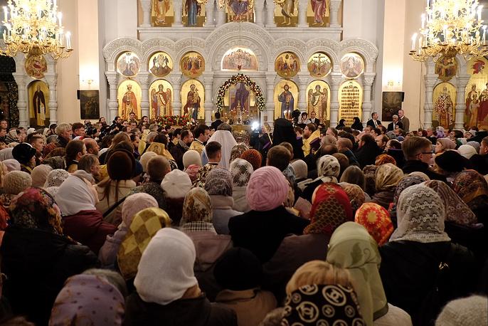 Ковчег с мощами Святого Спиридона пробудет в Екатеринбурге до 14 октября