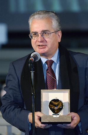 Директор Государственного Эрмитажа Михаил Пиотровский, лауреат 2004 года