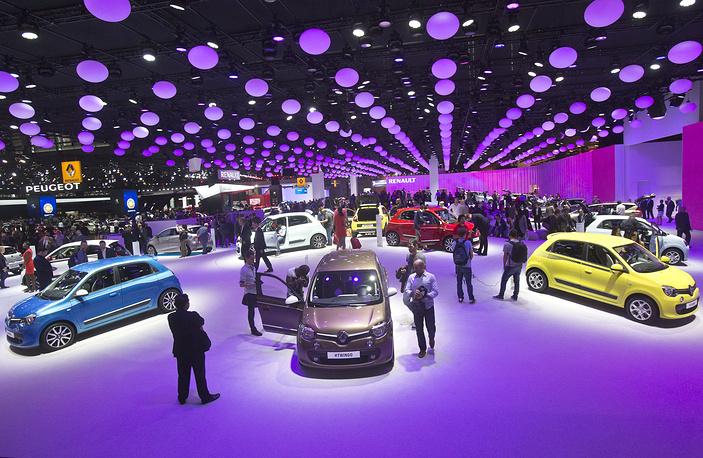 На выставке работают более 250 производителей автомобилей и комплектующих из 17 стран мира