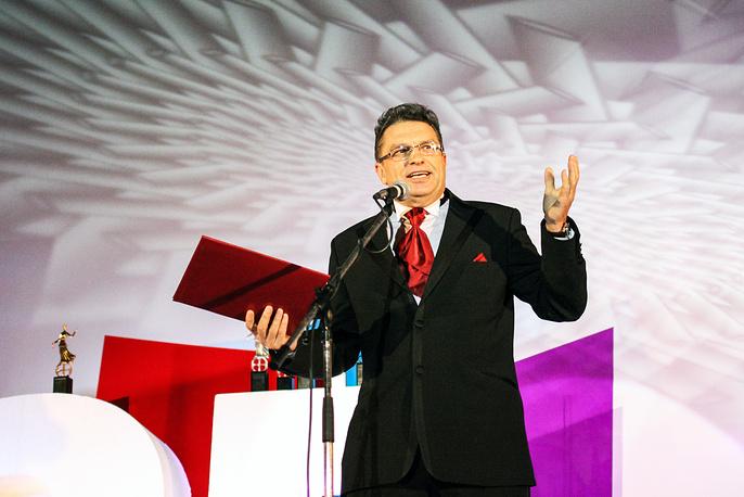 Ведущий церемонии, Народный артист России Анатолий Марчевский