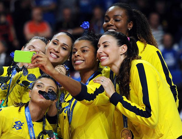 Бронзовые медали выиграли бразильянки